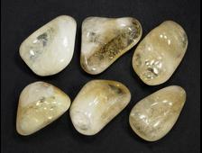 Цитрин (кварц), галтовка в ассортименте, Бразилия (28-35 мм, 10-13 г) №21345