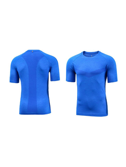 Спортивная футболка Xiaomi Proease one-piece light sports short-sleeved T-shirt синяя  размер XL