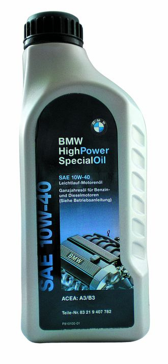 Моторное масло BMW High Power Special Oil 10W-40, 1л