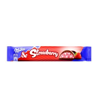 Milka strawberry батончик 36 gr