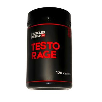 Testo Rage (120 капсул)MUSCLES DESIGN lab