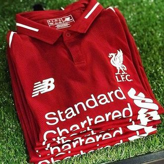 Футбольная форма New Balance Liverpool 18/19 XL Красный (397604511)