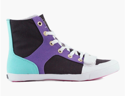 Кеды CREATIVE RECREATION CESARIO XVI BLACK PURPLE AQUA WHITE
