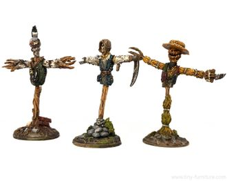 Evil scarecrows (PAINTED)