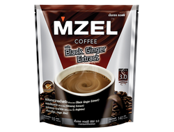 MZEL Coffee Instant coffee Mix with Black Ginger Extract 140 гр (10 саше)
