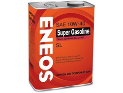 Масло моторное ENEOS Super Gasoline 10W-40 4л oil1357