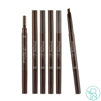 Карандаш-щеточка Etude House Drawing Eye Brow 06 Black Черный