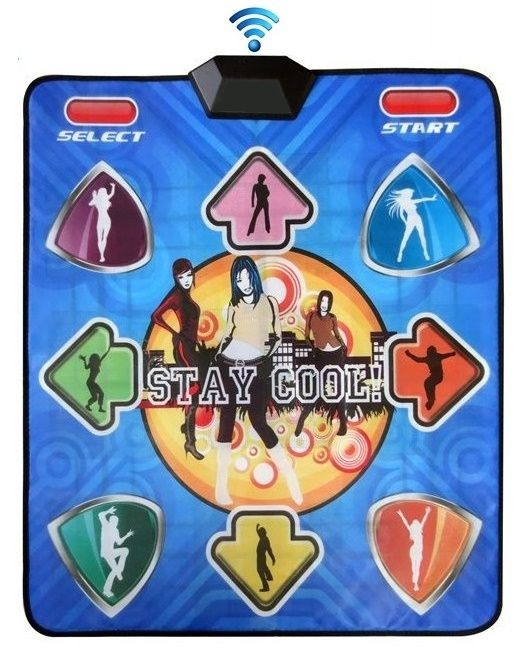 Танцевальный коврик Stay Cool Wireless PC - 1