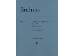 Brahms Violin Concerto D major op. 77