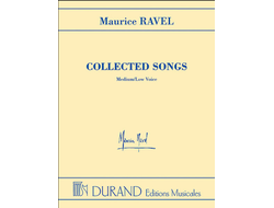 Ravel Colllected Songs Medium\Low Voice