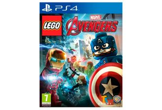 игра для PS4 LEGO Marvel Avengers Мстители