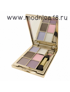 Тени для век Chanel Les 6 Ombres Ombres A Paupies Quatuor Qadra Eye Shadow 74 Nymphea