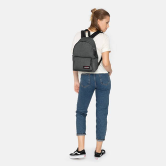 Женский рюкзак Eastpak Orbit Sleek'r Black Denim