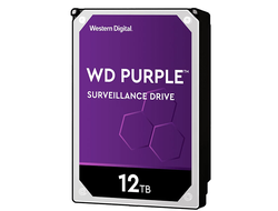 ЖЕСТКИЙ ДИСК HDD 12TB WESTERN DIGITAL PURPLE SATA 6GB/S 5400RPM