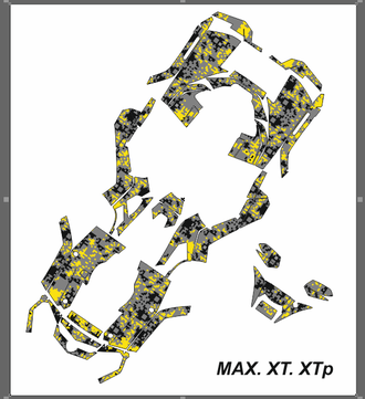 BRP Can-Am Outlander G1 MAX XT XTp 2006 - 2012 №1138