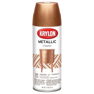 Krylon Brilliant Metallic Copper