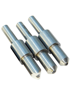 Replaceable diamond inserts