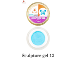 Гель-пластилин F.O.X Sculpture gel №12 (голубой)