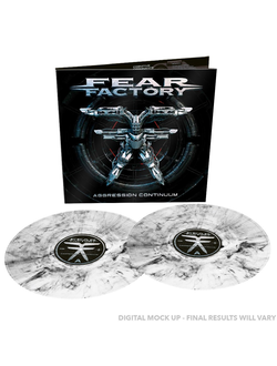 FEAR FACTORY - Aggression continuum 2-LP colored