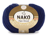 Nako Pure Wool 2418 темно-синий