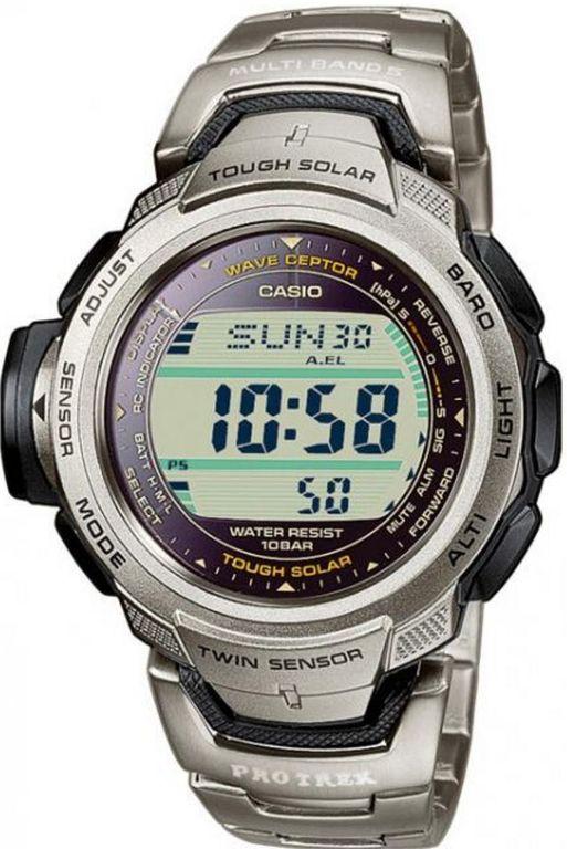 67fec96579d7 Мужские японские наручные часы Casio Pro Trek PRW-500T-7V купить в интернет- магазине 12chasov.ru