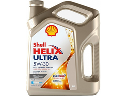 Масло моторное Shell HELIX ULTRA ECT 5W-30 4л 550040577