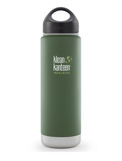 Термобутылка Klean Kanteen VACUUM INSULATED 592 мл (20oz) Vineyard Green