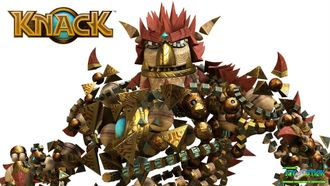 Knack (ReSale)[PS4, русская версия]
