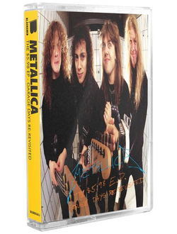 METALLICA - THE $5.98 E.P. - GARAGE DAYS RE-REVISITED TAPE
