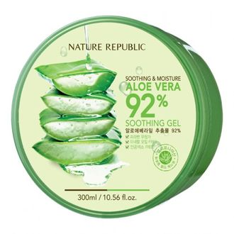 Универсальный гель с алое Nature Republic Soothing & Moisture Aloe Vera 92% Soothing Gel