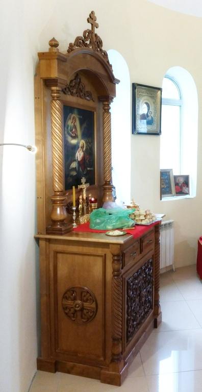 Жертвенник, изготовленный в нашей мастерской в Великой Кракотке для одного белорусского монастыря