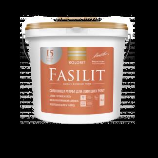 Силиконовая краска Kolorit Fasilit колорит фэсилит