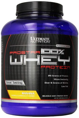 (Ultimate Nutrition) ProStar Whey - (2,39 кг) - (ваниль)