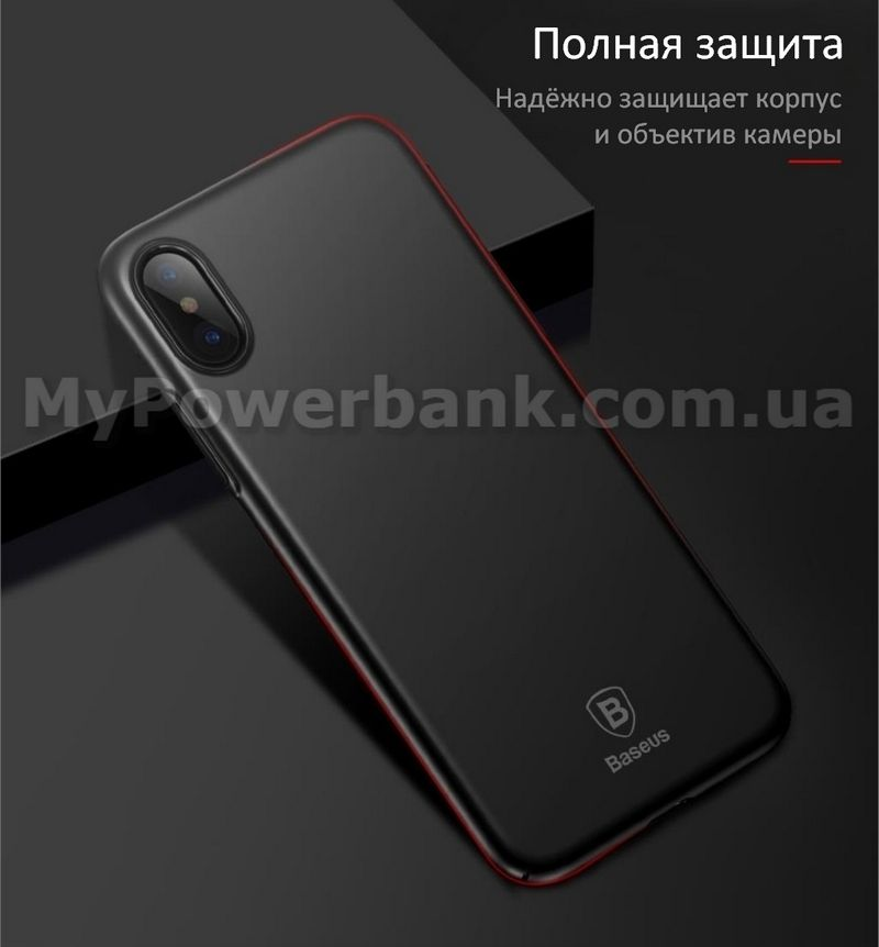 Чехол BASEUS Thin Case для iPhone X - описание