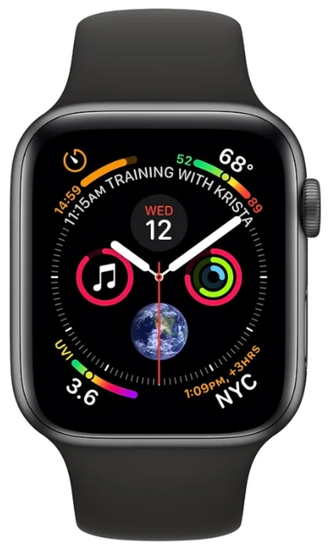 СМАРТ-ЧАСЫ Apple Watch Sport 5 series 44mm space Gray