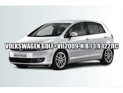 VOLKSWAGEN GOLF PLUS VI(2009-Н.В.) 1.4 122ЛС