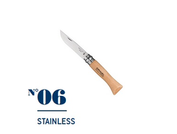 Нож Opinel №06 Stainless Steel