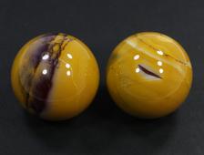 Шар Яшма мукаит (моокаит) в ассортименте, Австралия (34-35 мм, 55-60 г) №19934