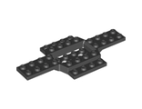 Vehicle, Base 6 x 12 with 4 x 2 Recessed Center with Smooth Underside, Black (28324 / 6170384)