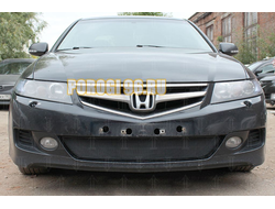 Защита радиатора Honda Accord VII (рестайлинг) 2006-2008 black