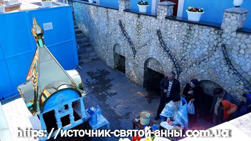Источник Святой Анны Онишковцы фото
