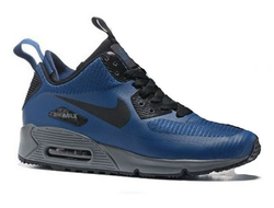Nike Air Max 90 ES SneakerBoot Blue (41-45) Арт. 103FA