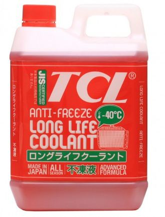 Антифриз TCL LLC RED (Long Life Coolant) - 40 (2 л)