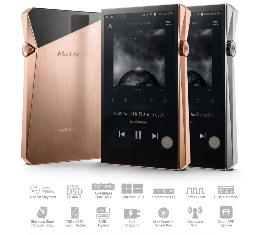 Astell&Kern A&ultima SP1000 в xspeakers.ru