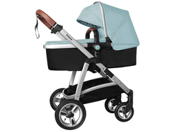 Коляска 2в1 Baby Tilly T  T-165 Futuro Hawaii Blue