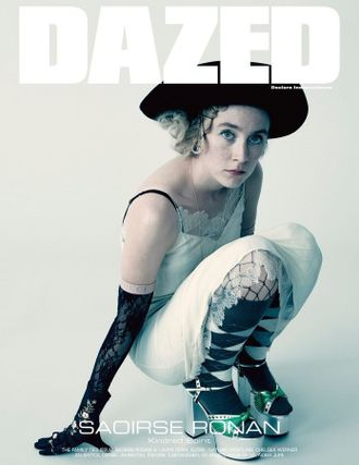 DAZED & CONFUSED Magazine Winter 2019 Saoirse Ronan Иностранные журналы Photo Fashion, Intpress