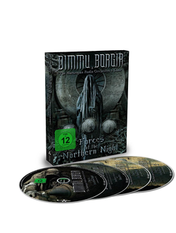 DIMMU BORGIR Forces of the northern night DIGIBOOK 2-DVD + 2CD