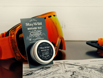 Воск для усов Stay Wild Energy Lime