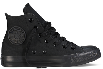 converse chuck taylor all star hi black monochrome 01