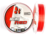 Зимняя леска BAT ICE-RED 30м. 0.18мм. тест 4.60кг.